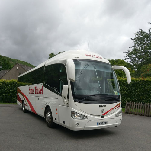 New luxury coach joins our fleet